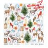 Christmas 04 - arkusz do wycinania/ ScrapAndeMe