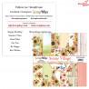 Mały bloczek papieru - Sunny Village/09 ScrapBoys 15x15cm