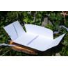 Folder teczka na zdjęcia 15,5x21,5 biała GoatBox