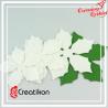 Gwiazda betlejemska 13 cm - biała