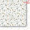 Zestaw papierów   30x30 cm/ Białe jak śnieg   -  / Paper Heaven