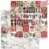 """Zestaw papierów do scrapbookingu """"A Holly Jolly Christmas""""- 30x30+bonus page"""