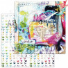 "Zestaw papierów do scrapbookingu ""Glitter Stories""- 30x30+bonus page page"