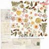 """Elementy do wycinania """"beautiful things"""" -arkusz 30x30cm"""