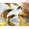 Złota kalka kreatywna 0127