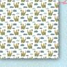 Zestaw dwustronnych papierów Za siedmioma górami - SMALL 15x15cm  Paper Heaven