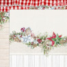 Dwustronny papier  This Christmas 03 /30x30 cm/Lemon Craft