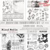 MM- OZDOBNE KALKI 2 - zestaw /  CC