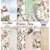 Zestaw papierów WINTER TIME /09 /15x15cm/ScrapBoys