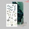 Arkusz Liści Kolekcja Eclpise  / ZoJU Design