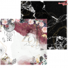 Dwustronny papier 02 Kolekcja Eclipse 30x30cm / ZoJU Design