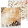 Dwustronny papier  30x30 cm - Cinnamon Christmas 02 - Lexi Design