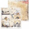 Dwustronny papier  30x30 cm - Cinnamon Christmas 08 - Lexi Design