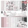 Zestaw Papierów  30x30 cm - Shabby Winter  - Lexi Design