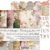 VINTAGE TREASURE - zestaw papierów 15,25x15,25cm /CraftOCloc