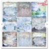 """Zestaw papierów 30x30cm""""Winter animals""""SLS-022"""