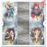 """Zestaw papierów 30x30 cm""""Carnival - Pierrot in love""""/SLS-021"""