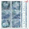 Zestaw papierów 30x30 - Christmas in blue / leśne zwierzęta/SLS-019