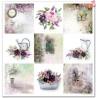 Zestaw papierów 30x30 - Garden of Dreams kwiaty/SLS-009