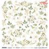 Simple Story 3 beige Flowers / ScrapAndeMe