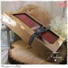 Pudełko na kartkę DL eco kraft wysokie owal/GoatBox