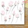 Pierścień i róża- FLOWERS - Zestaw papierów z elementami do wycinania - Paper Heaven
