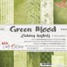 GREEN MOOD - zestaw papierów 15,25x15,25cm