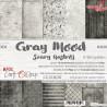 GRAY MOOD - zestaw papierów 20,3x20,3cm