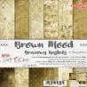 BROWN MOOD - zestaw papierów 15,25x15,25cm