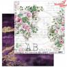 "Papier do scrapbookingu ""A Beautiful Noise""- arkusz 01 A Beautiful Noise - 30x30"