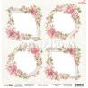 Dwustronny papier First Love 05 Scrap Boys   30,5x30,5cm
