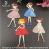 WYKROJNIK - dziewczynki /0129