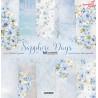 Sapphire Days -zestaw papierów 30x30cm / ScrapAndMe
