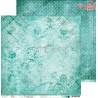 TURQUOISE MOOD - zestaw papierów 20,3x20,3cm  /CraftO'Clock