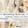 BLOOMING RETREAT - zestaw papierów 15,25x15,25cm  /CraftO'Clock