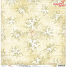 WHITE-BEIGE MOOD - 05 - dwustronny papier 30,5x30,5cm  /CraftO'Clock