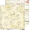 WHITE-BEIGE MOOD - zestaw papierów 20,3x20,3cm /CraftO'Clock