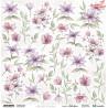 Elementy do wycinania Aquarelles Flowers 2 - arkusz do wycinania ScrapAndMe