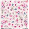 Bright & Soft Flowers - arkusz do wycinania