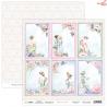 Dwustronny papier Garden of Love 06 Scrap Boys   30,5x30,5cm