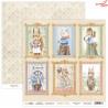 Dwustronny papier Bedtime Story 03 Scrap Boys   30,5x30,5cm