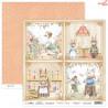 Dwustronny papier Bedtime Story 05 Scrap Boys   30,5x30,5cm