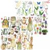 "Papier z elementami ZoJu Design ""Lady Spring"" 08  /30x30cm"