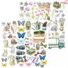 "Papier z elementami ZoJu Design ""Lady Spring"" 09  /30x30cm"