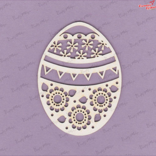 Tekturka - Jajko Wielkanocne 1- G4