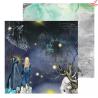 """Papier ZoJu Design """"School Of Magic"""" 06  /30x30cm"""