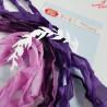 CRIB-011 RIBBONS - tasiemki vintage - BLOOMING GRUNGE - Craft&You Design