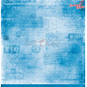 BASIC 12 - BLUE MOOD - 03 - dwustronny papier 30,5x30,5cm /CC