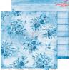 BASIC 12 - BLUE MOOD - zestaw papierów 15,25x15,25cm