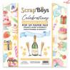 Bloczek papierów 15x15-  Pop Up Paper Pad Celebrations